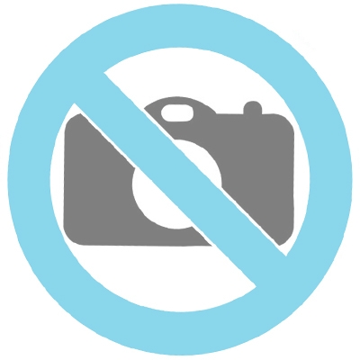Bronzen mini urn 'Oval hearts'